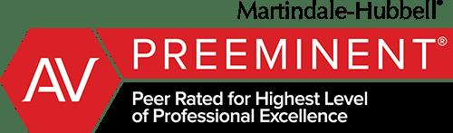 Martindale-Hubble AV Peer Rating